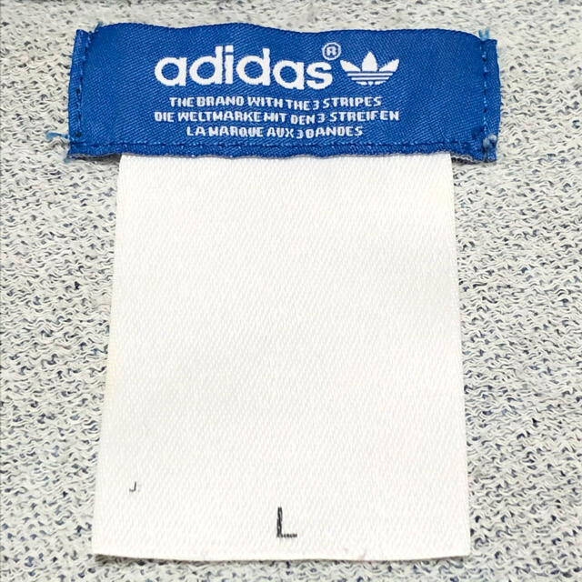adidas(アディダス)のadidas アディダス スウェット トレーナー 大きめ デカロゴ 90s レア メンズのトップス(スウェット)の商品写真