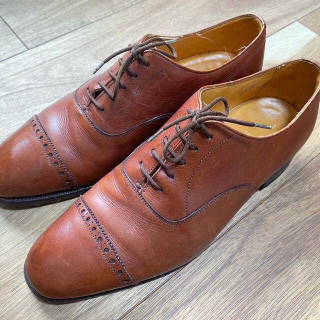 EDWARD GREEN(エドワードグリーン)の★希少 旧工場 80s EDWARD GREEN ビジネスシューズ革靴 メンズの靴/シューズ(ドレス/ビジネス)の商品写真