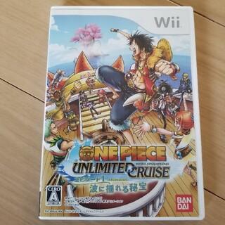 ウィー(Wii)のOne piece unlimited cruiseエピソード1波に揺れる秘宝…(家庭用ゲームソフト)