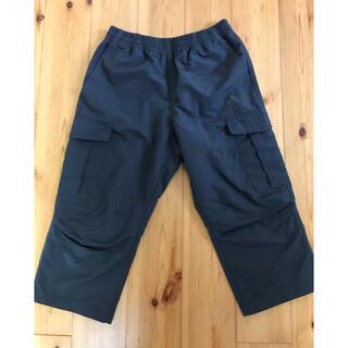 アディダス(adidas)のアディダス ハーフ パンツ チャコール グレー 140 短パン ズボン(パンツ/スパッツ)