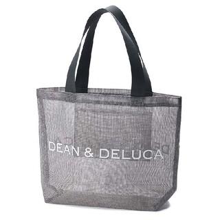 ディーンアンドデルーカ(DEAN & DELUCA)のDEAN&DELUCA メッシュトートバッグ グレーシルバー Lサイズ(トートバッグ)