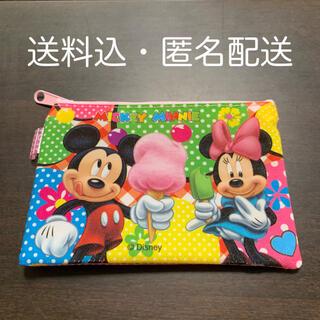 ディズニー(Disney)のミッキー&ミニー 小銭入れ ミニ財布 ミニポーチ(キャラクターグッズ)
