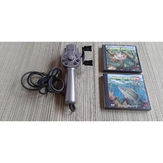 プレイステーション(PlayStation)のプレイステーション1 釣りコン(家庭用ゲームソフト)