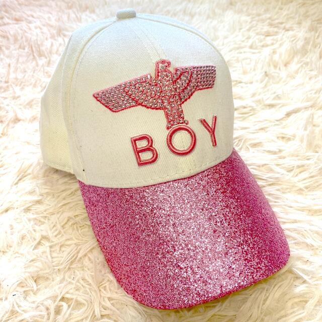 Boy London(ボーイロンドン)のBOYLONDON ボーイロンドン キャンプ キラキラ レディースの帽子(キャップ)の商品写真