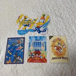 ディズニー(Disney)のディズニーホテル ドナルド ポストカード 誕生日(キャラクターグッズ)
