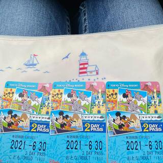 ディズニー(Disney)のディズニーリゾートライン フリー切符  2day(鉄道乗車券)