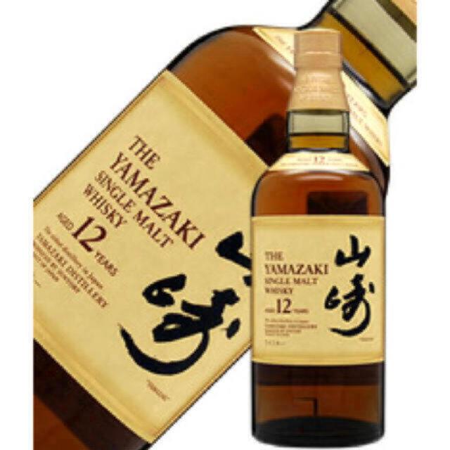 サントリー(サントリー)のサントリー 山崎12年 ウイスキー  一本 新品未開封 食品/飲料/酒の酒(ウイスキー)の商品写真
