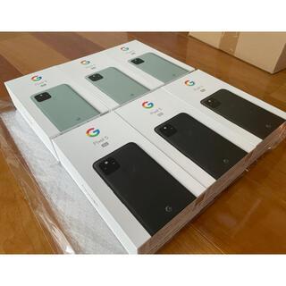 グーグルピクセル(Google Pixel)のGoogle pixel 5 128GB SIMロック解除済み 6台セット(スマートフォン本体)