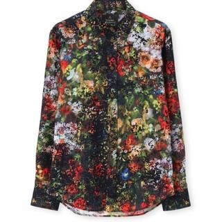 Vivienne Westwood - Viviennewestwood man フラワーブーケシャツ