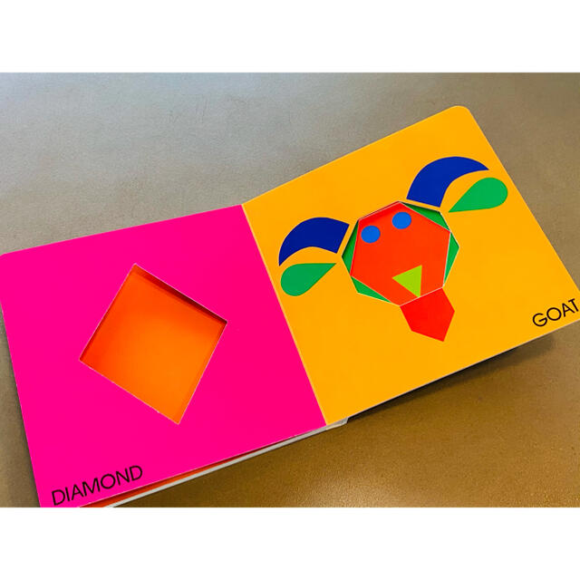 MOMA(モマ)の英語絵本 キッズ洋書 しかけ絵本 ロイスエラート 動物 Color Zoo エンタメ/ホビーの本(絵本/児童書)の商品写真