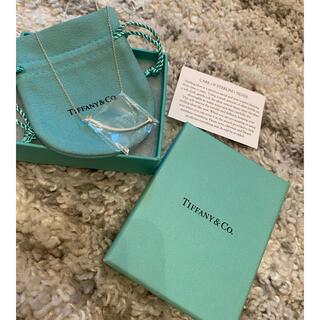 Tiffany & Co. - Tiffany& Co. スマイルネックレス  シルバー