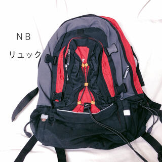 ニューバランス(New Balance)のリュック バックパック ニューバランス レッド(登山用品)