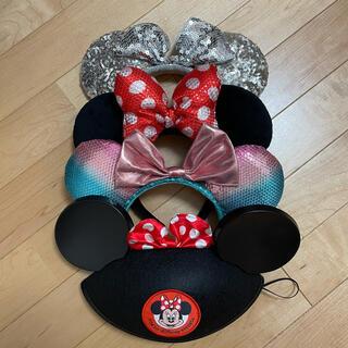 ディズニー(Disney)のディズニーカチューシャ 4つセット(キャラクターグッズ)