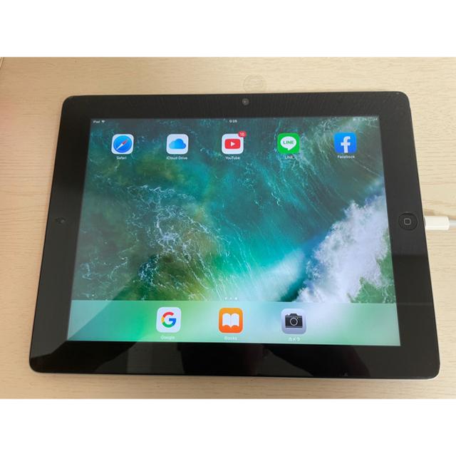 iPad(アイパッド)の美品 iPad4 16GB  WIFI モデル アイパッド 第4世代 スマホ/家電/カメラのPC/タブレット(タブレット)の商品写真