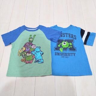 ディズニー(Disney)のディズニー モンスターズインク 120 半袖 ティーシャツ(Tシャツ/カットソー)