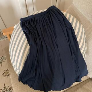 ユニクロ(UNIQLO)のユニクロ 柔らかいプリーツスカート (ひざ丈スカート)