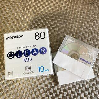 ビクター(Victor)のMD 新品未使用 空ディスク 80分 12枚セット(その他)