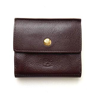 イルビゾンテ(IL BISONTE)のイルビゾンテ IL BISONTE コンパクト 三つ折り財布 こげ茶(財布)