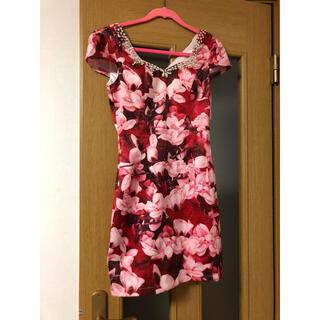 dazzy store - キャバドレス 花柄 ビジュー