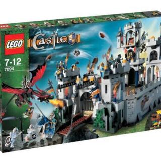 レゴ(Lego)のLEGOキャッスル 7094 王様の城+他シリーズ★3kgまとめ売り(積み木/ブロック)