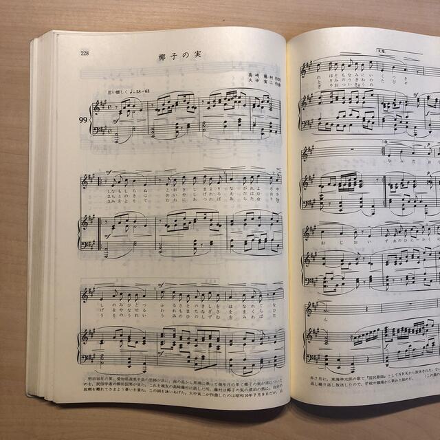 日本抒情歌全集1 ピアノ伴奏・解説付 エンタメ/ホビーの本(楽譜)の商品写真