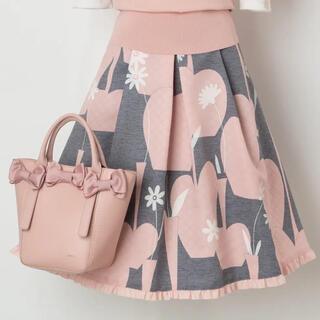 M'S GRACY - エムズグレイシー  フラワーベース柄スカート size40