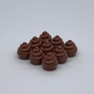 レゴ(Lego)の【新品・感謝セール】LEGO ソフトクリーム風パーツ 9個セット(知育玩具)