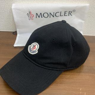 モンクレール(MONCLER)のモンクレール 未使用品 キャップ ブラック(キャップ)