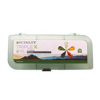 アムウェイ(Amway)のAmway NUTRILITE TRIPLEX トリプルXサプリメントケース(ビタミン)