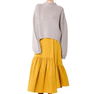 ルシェルブルー(LE CIEL BLEU)のLE CIEL BLEU ラップスカート Ruffle Wrap Skirt (ロングスカート)