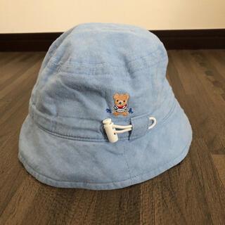 ミキハウス(mikihouse)の【ミキハウス】春夏用 帽子 46(帽子)