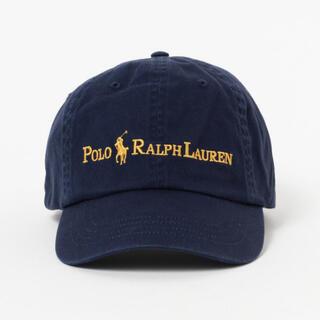 POLO RALPH LAUREN - POLO RALPH LAUREN × BEAMS Navy Gold CAP