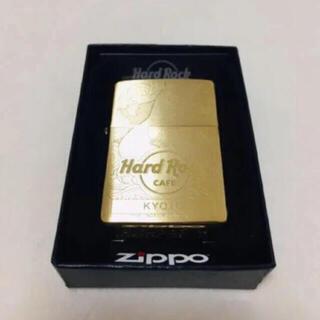 ジッポー(ZIPPO)のハードロック ジッポー 煙草 ライター レア 京都 ハードロックカフェ(タバコグッズ)