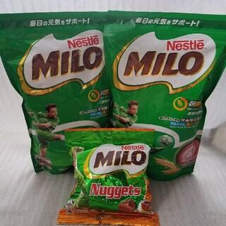 ネスレ(Nestle)のネスレ ミロ MILO 700g 2袋 ミロナゲッツ 72g(その他)