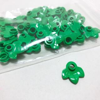 レゴ(Lego)の【新品未使用】レゴ LEGO 葉っぱ 葉 三つ葉 リーフ 50個(知育玩具)