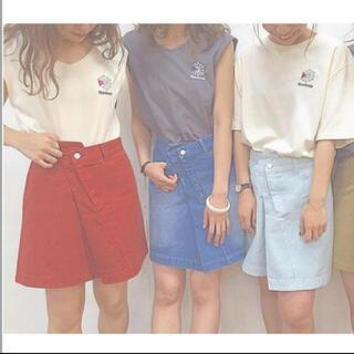 カスタネ(Kastane)の Kastane×ReebokコラボTシャツ(Tシャツ(半袖/袖なし))