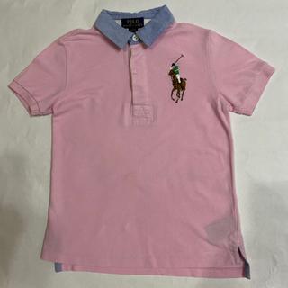 Ralph Lauren - ラルフローレン 130 ピンク ビックポニー ポロシャツ