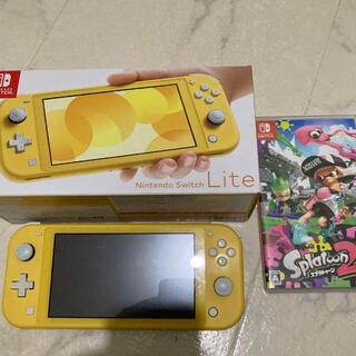 Nintendo Switch Lite 任天堂スイッチライト スプラトゥーン2