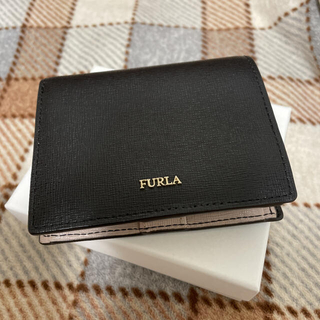 Furla - 本日限定価格⭐︎ フルラ 二つ折り財布 黒 バイカラー ブラック