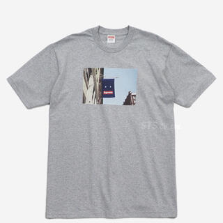 Supreme - Supreme 19F/W Banner Tee heather grey XL