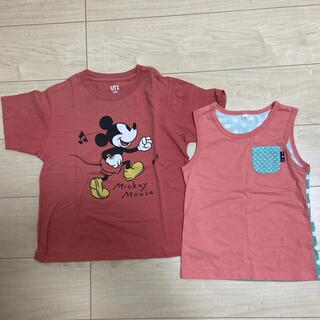 ユニクロ(UNIQLO)のTシャツ タンクトップ セット(Tシャツ/カットソー)