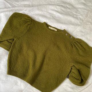 キャラメルベビー&チャイルド(Caramel baby&child )のsoor ploom ソーアプルーム ニット agnes sweater(ニット)