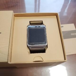 サムスン(SAMSUNG)のSamsung Galaxy gear ブラック 未使用品 (腕時計(デジタル))