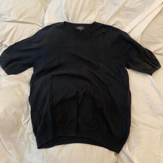 アーペーセー(A.P.C)のA.P.C.  半袖ニット(Tシャツ(半袖/袖なし))