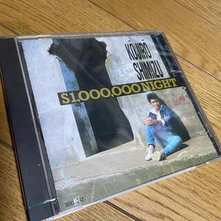 清水宏次朗【CD】$1,000,000 NIGHT (ポップス/ロック(邦楽))