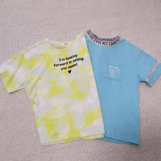 PINK-latte - PINK-latte Tシャツ 2枚セット(150cm)