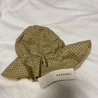 Caramel baby&child  - CARAMEL ドット柄 帽子 Lサイズ
