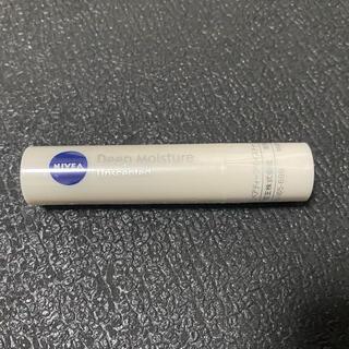 ニベア - ニベアリップクリーム ディープモイスチャー無香料1本