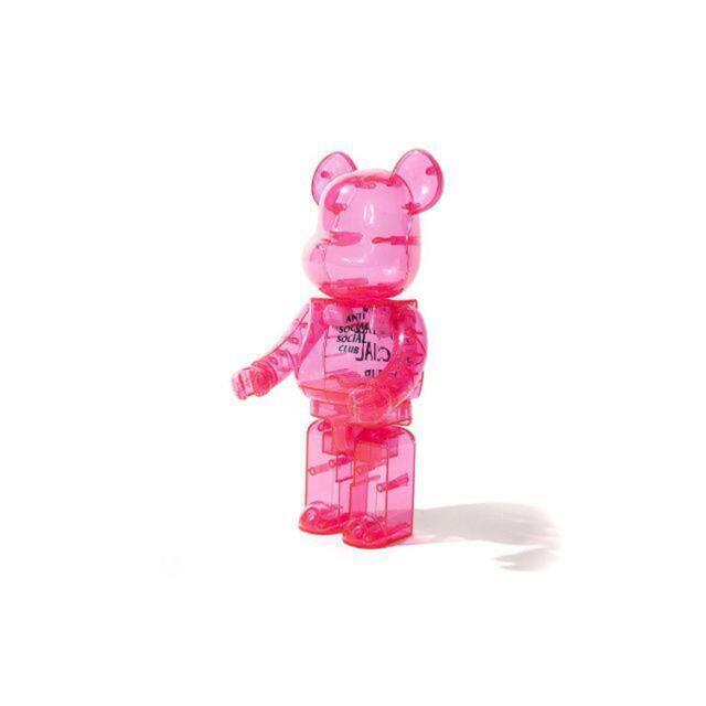 MEDICOM TOY(メディコムトイ)のAnti Social Social Club×BE@RBRICK 400%  エンタメ/ホビーのおもちゃ/ぬいぐるみ(キャラクターグッズ)の商品写真