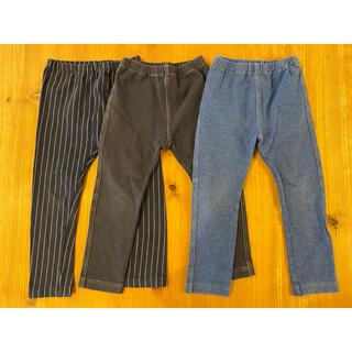 ユニクロ(UNIQLO)のユニクロ レギンス パンツ サイズ100 3着(パンツ/スパッツ)